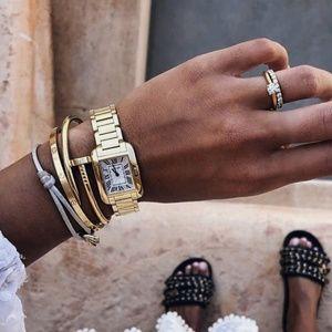 Jewelry - Gold vintage geneva watch unisex